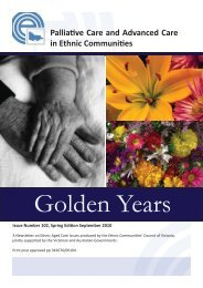 Spring 2010 Golden Years.indd - Ethnic Communities Council of ...