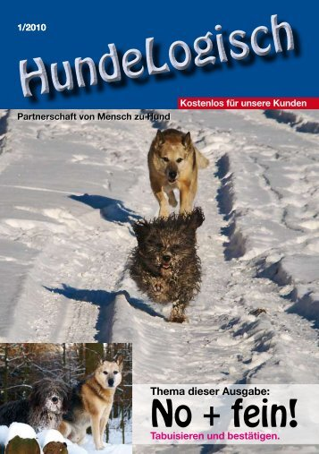 Heft 1/2010 - bei Hunde-logisch.de