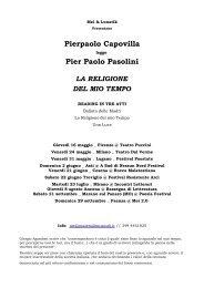 Pierpaolo Capovilla Pier Paolo Pasolini