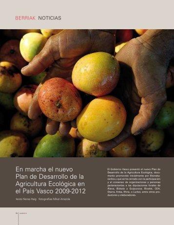 En marcha el nuevo Plan de Desarrollo de la Agricultura Ecológica ...