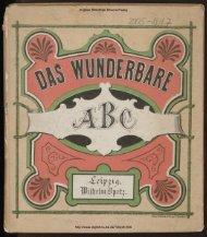 Das wunderbare ABC - Digitale Bibliothek Braunschweig