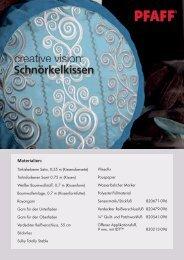 Downloaden Nähprojekt (pdf) - Pfaff