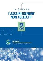 Guide de l'assainissement non collectif (SPANC) - siarv