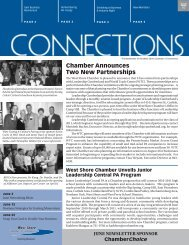 Chamber Announces Two New Partnerships - West Shore Chamber ...