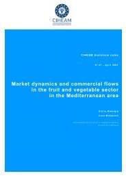 Market dynamics and commercial flows in the fruit and vegetable ...