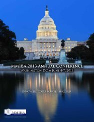 MMIBA 2013 Annual Conference Registration Form