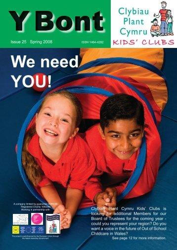 Download - Clybiau Plant Cymru: Kid's Clubs