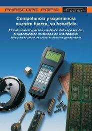 Phascope PMP10-Spanisch - Fischer Technology, Inc.