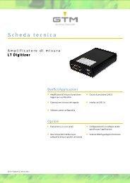 Scheda tecnica Serie LT-Digitizer - GTM GmbH