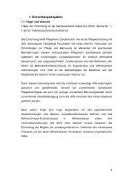 Wohnbereich 3 PHS - Bezirksverband Oldenburg