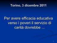 1-Torino, 3 dicembre 2011_new.pdf - Caritas Torino