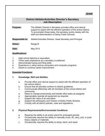 242 Job Description Ms Athletic Director   School District Of Omro