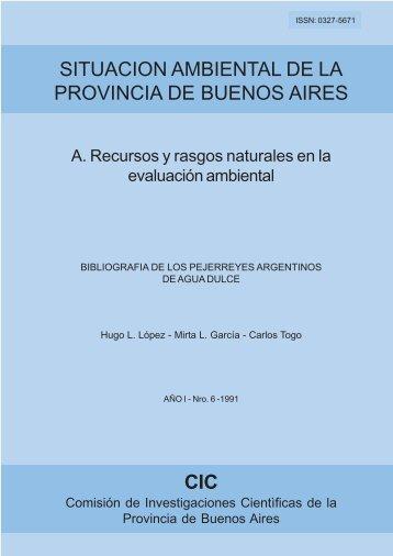 Bibliografía de los pejerreyes argentinos de agua dulce