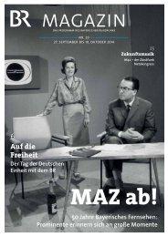 BR-Magazin 20/2014