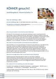 KÖNNER gesucht! - Bezirksverband Oldenburg