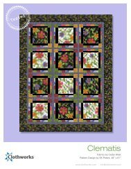 to download the 'Clematis' free pattern. - Stitch-N-Frame