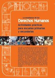 La enseñanza de los derechos humanos - INEE Toolkit