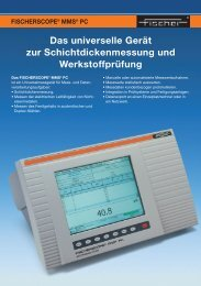 Anwendungsbezogene Gerätebestückung - Fischer Technology, Inc.