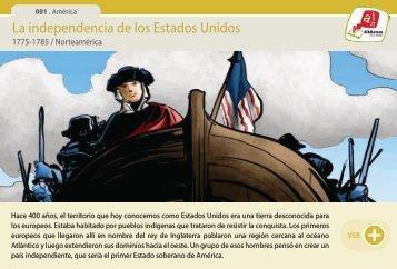 La independencia de los Estados Unidos - Manosanta