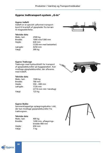 Produkter - Gyproc