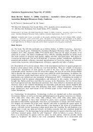 Book Review: Barker, S. (2006). Castiarina - Australia's ... - Calodema
