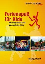Ferienspaß für Kids - Wuppertal - Kinder