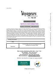 Convention Circuit - Voyageurs du Monde