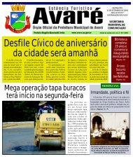 Desfile Cívico de aniversário da cidade será amanhã - Câmara ...