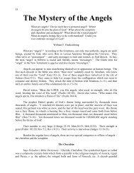 The Mystery of the Cherubim - TriumphPro.com