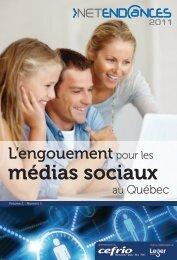 L'engouement pour les médias sociaux au Québec