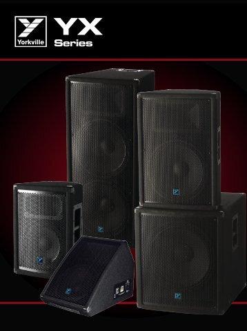 YX Catalog - Yorkville Sound