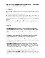 JetQuick Plasmid Miniprep Spin Kit Protocol - Brunschwig-ch.com