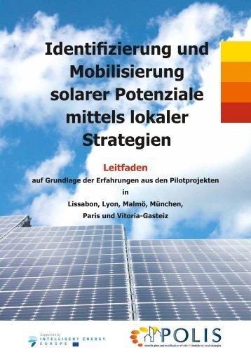 Identifizierung und Mobilisierung solarer Potenziale mittels ... - polis
