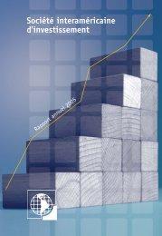 Société interaméricaine d'investissement Rapport annuel 2005