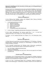 Ortsbildsatzung für die Bereiche Elberfeld ... - Stadt Wuppertal