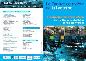 Plaquette entretien de cours d'eau.qxd - EPTB Saône Doubs