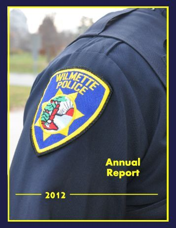 2012 Annual Report - Village of Wilmette