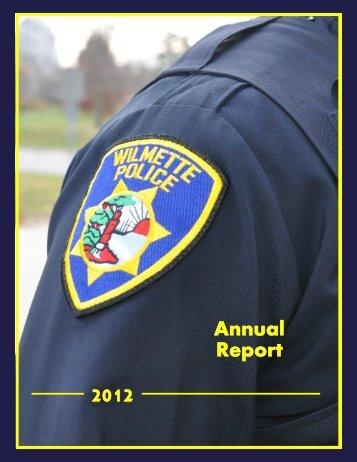 2012 Annual Report - Village of Wilmette