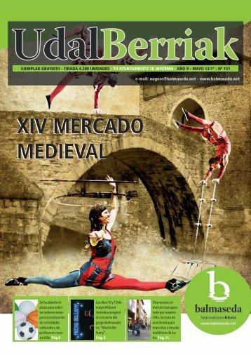 Udalberriak 151 Castellano.pdf - Ayuntamiento de Balmaseda