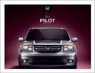Download Factsheet - Goudy Honda