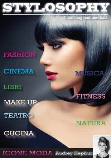FASHION CINEMA LIBRI MAKE UP TEATRO CUCINA MUSICA FITNESS NATURA ICONE MODA