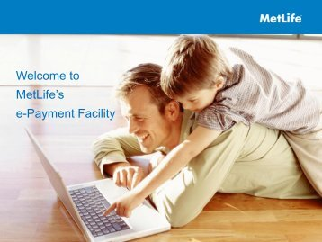 What is e-Payments - MetLife Alico