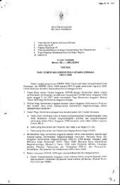 Surat Edaran Menteri Keuangan tentang Pagu Sementara ...