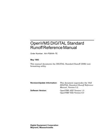openvms edt reference manual operating systems and rh yumpu com COBOL Tutorial Grace Hopper COBOL