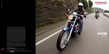 Custom Brochure - Colwyn Bay Motorcycles