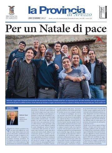 periodico dicembre 2012 - Protezione Civile della Provincia di Arezzo