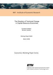 The Direction of Technical Change in Capital-Resource ... - CER-ETH