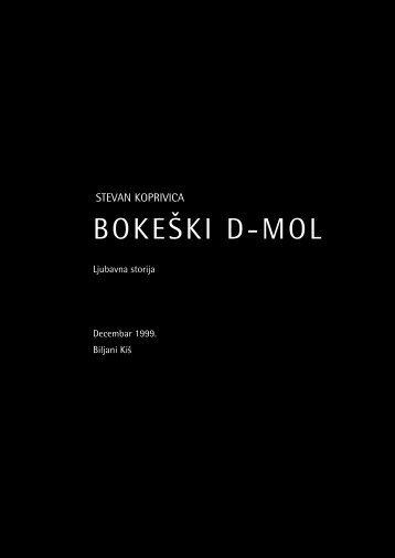 bokeški d-mol