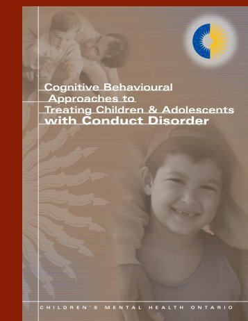 with Conduct Disorder - Children's Mental Health Ontario