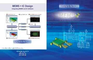 MEMS+ Datasheet - Europractice